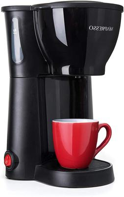 mini compact drip coffee maker with brewing