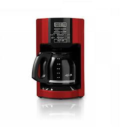 Mr. Coffee 12-Cup Drip Coffee Maker, Red BRAND NEW