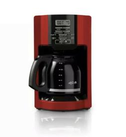 Mr. Coffee Cup Automatic Drip Coffee Maker - Red Used