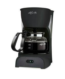 Mr. Coffee DR5 4-Cup Switch Coffeemaker Coffee Pot Drip Blac
