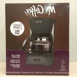 Mr. Coffee  Simple Brew  4 cups Black  Coffee Maker