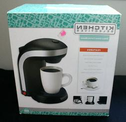 NEW KITCHEN SELECTIVES SINGLE SERVE ELECTRIC COFFEE MAKER DR