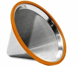 Pour Over Coffee Filter - Reusable Drip Coffee Filter for Ch