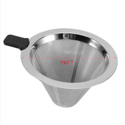 Pour Over Coffee Maker Stainless Steel Mesh Filter Drip Espr