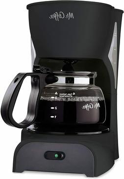 Mr. Coffee Simple Brew Coffee Maker 4 Cup Coffee Machine|Dri