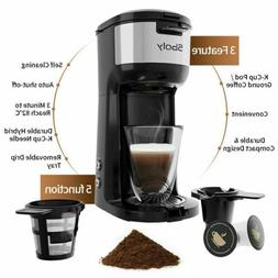 Sboly Single Serve Coffee Maker K Cup Compact Design Thermal