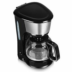 Tower T13001 10 Cup Coffee Maker with Anti-Drip Feature, 1.2