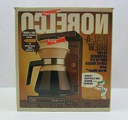 VTG Norelco Dial-A-Brew 10 Cup Automatic Drip Filter Coffee